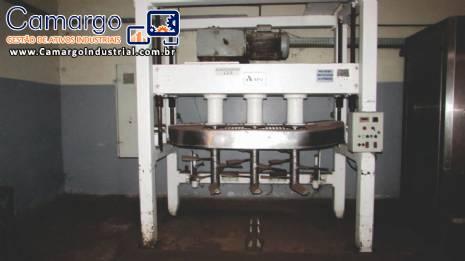 Linha de biscoitos bolachas rosquinhas 2.000 kg