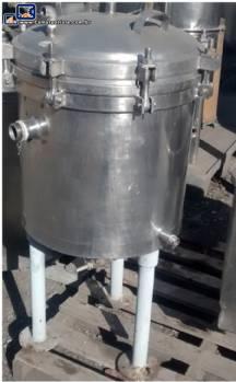 Filtro Sparkler em aço inox