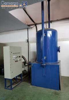 Maquina de metalização e robô de pintura Amaterasu