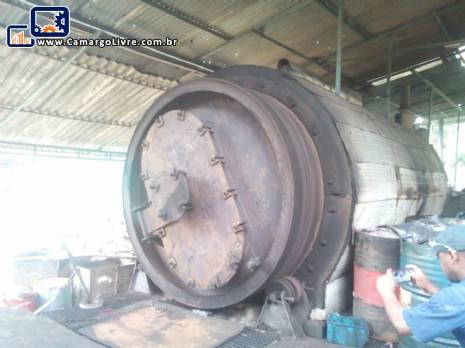 Usina de pirolise para 5 toneladas
