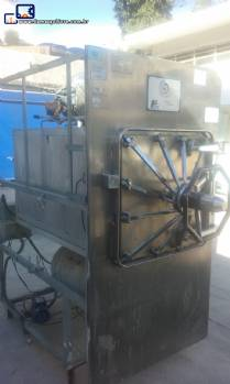 Autoclave industrial horizontal