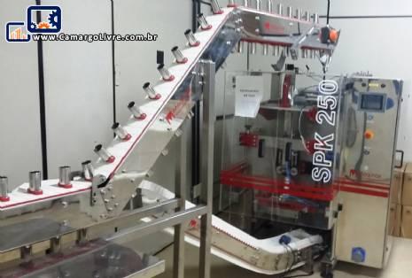 Embaladora vertical de caneca Maqinox
