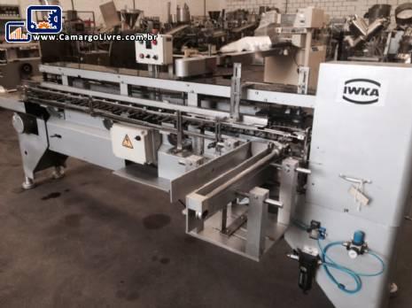 Encartuchadora vertical automática IWKA - N
