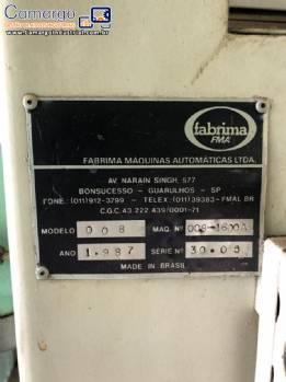 Embaladora de pós Fabrima