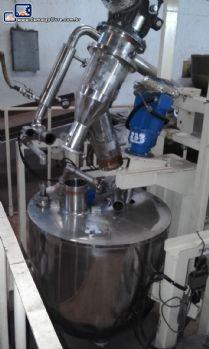 Cozinhador / cozedor para fabricação de balas á vácuo