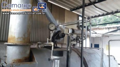 Caldeira Heatmaster capacidade 480 KG/H