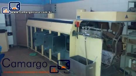 Forno industrial automático para produção de folhas waffer fabricante Haas
