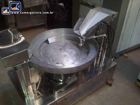 Pesadora vibratório em aço inox JHM